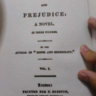 Literature book: Pride And Prejudice by Jane Austen