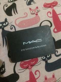 MAC eyeshadow & blusher