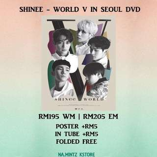 PRE-ORDER SHINEE - WORLD V IN SEOUL DVD