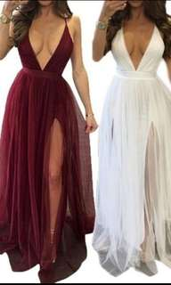 Long Maxi Dress / Evening Dress / Beach Wear