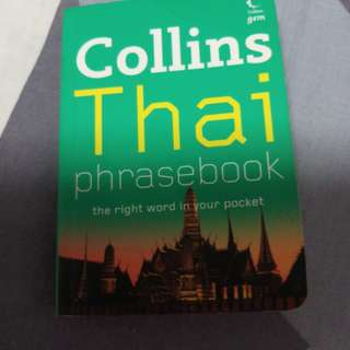 Collins Thai Phasebook