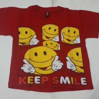 SALE!!! KAOS SMILE