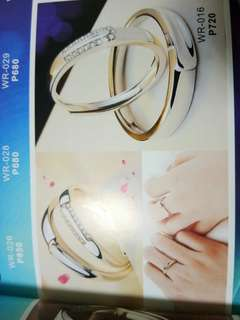 92.5 Silver Couple Ring