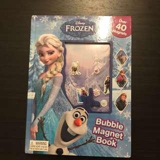 Disney Frozen Magnet Picture Book Activity Book