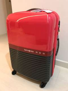 "Brand New Samsonite RED 24"" Robo Spinner Luggage"