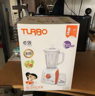 Blender turbo plastik by philips EHM- 8099/5 + dry mill (2 in 1)