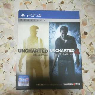 PS4 Uncharted games