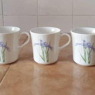 Corelle shadow iris mug