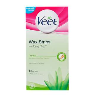 BNIB VEET WAX STRIPS WITH EASY DRIP DRY SKIN