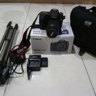 Canon EOS 70D + Zoom Lens EF-S 18-55mm