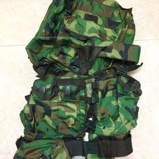 解放軍01式作戰裝具及戰鬥背囊