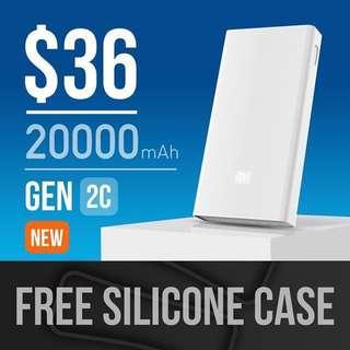 Xiaomi 20000/20K MAH Gen 2C Powerbank
