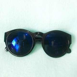 Futuristic Blue Lens Sunnies