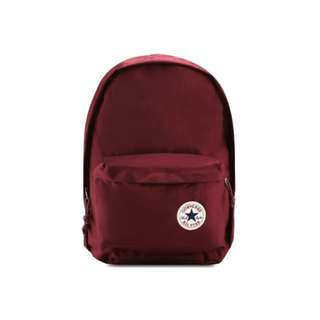 Converse Basic Backpack in Burgundy