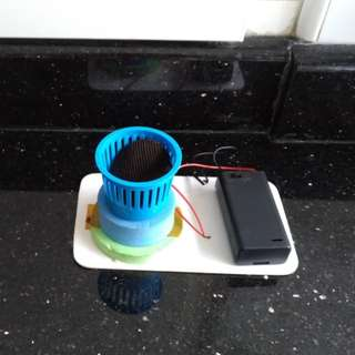 Science toy #2...tumble dryer...educational battery operated