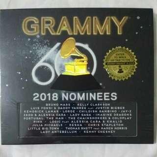 [Music Empire] Grammy 2018 Nominees CD Album