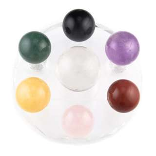 Mixed Gemstones Feng Shui Balls