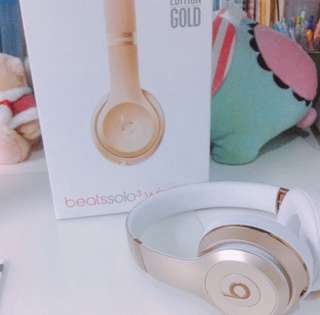 Beats solo 3 wireless 耳機🎧✨