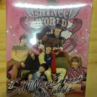 SHINee Concert 演唱會 SHINee World II in Seoul CD
