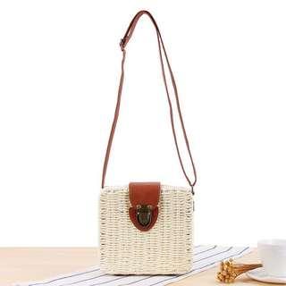 Rattan sling bag (PO)