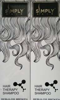 Hair therapy shampoo