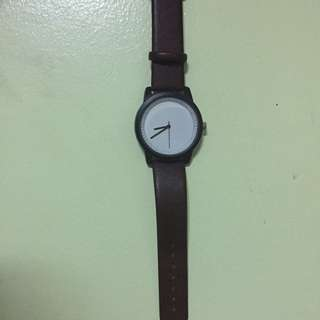 Brown Simple Watch