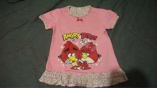 Baju Santai/Tidur Angry Birds