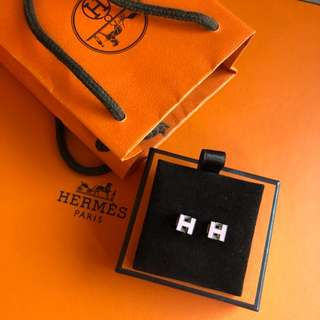 New Pink Hermes Earring