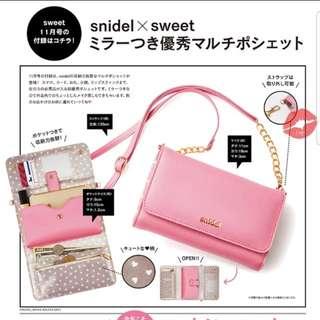 Snidelxsweet雜誌袋