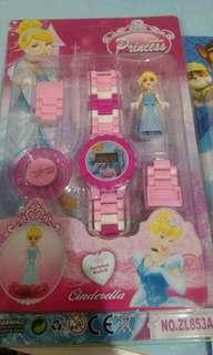 Jam tangan Lego Anak Boy and Girls