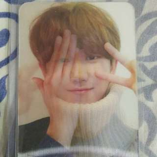 Seventeen The8 Minghao Director's Cut Lenticular Photocard