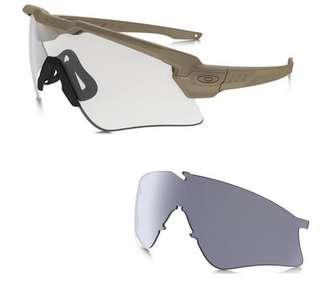 Okaley SI Ballistic M-Frame Alpha 雙鏡裝 沙色