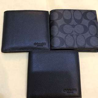 Coach Men's Wallet Original Coach Purse