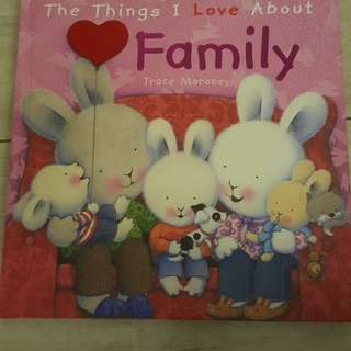 Storybook - the things i love about family