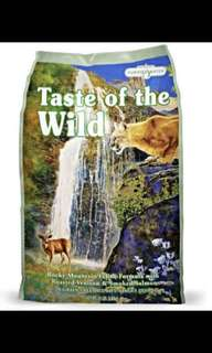 Promotion 7KG Taste of The Wild Cats Dry Food ( TOTW )