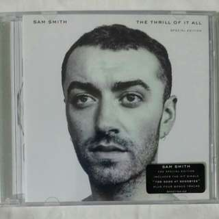 [Music Empire] Sam Smith - The Thrill Of It All CD Album