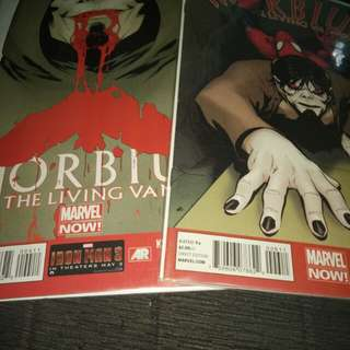 Morbius The Living Vampire Comics-Marvel