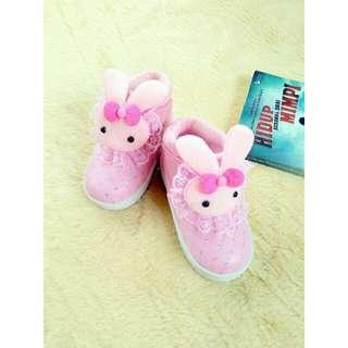 Sepatu anak PL 04 rabbit pink