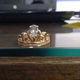 Cincin Crown (Silver)