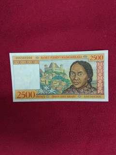 Madagascar 2500 Francs