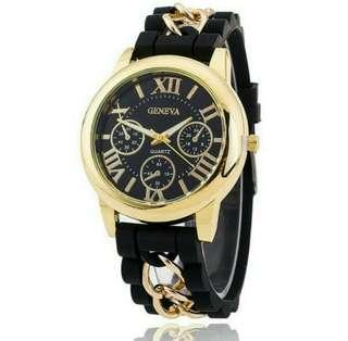 Silicon Band Wristwatch