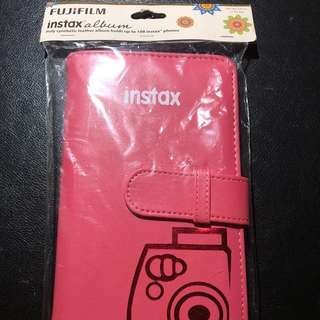 Official and Authentic Fujifilm Pink Leather Instax Album
