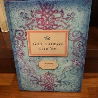 A Promise Journal - God is always with you