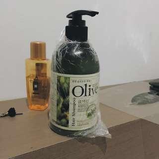 olive shampoo korea
