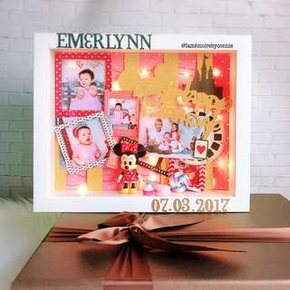 Personalised 3D Photo Frame (Minnie Mouse)