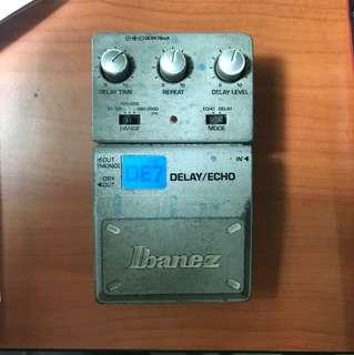Ibanez DE7 Delay/Echo Pedal