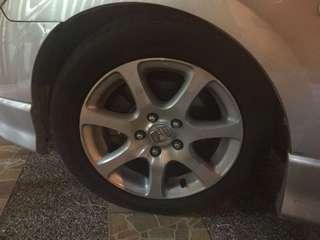 Tyre + Rim
