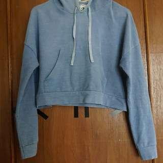 hoodie crop by COLORBOX