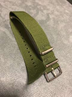 20mm Nato Watch Strap Military Green