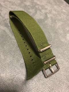 20mm Nato Watch Strap Military Green